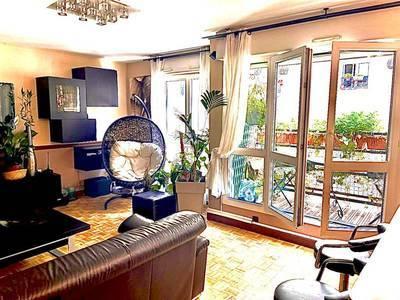 Vente appartement 3pièces 72m² Paris 11E (75011) - 840.000€