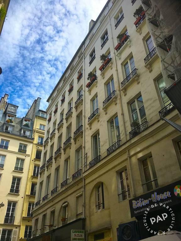 Vente appartement studio Paris 1er