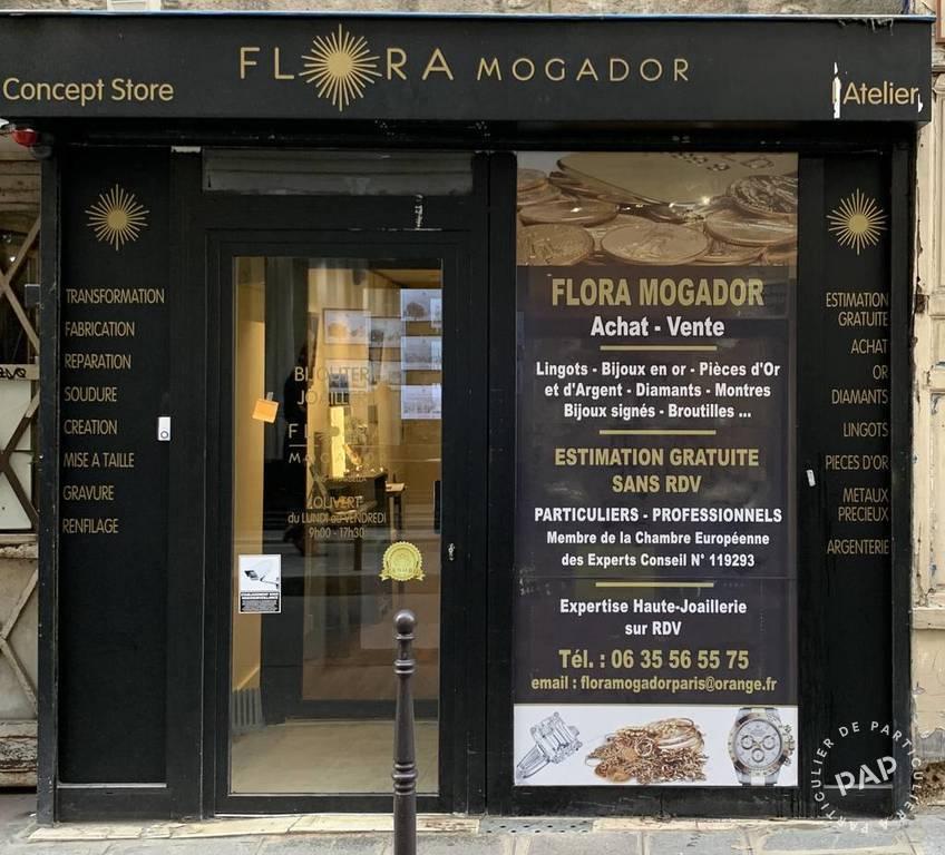 Vente et location Fonds de commerce Paris 3E (75003)  35.000€
