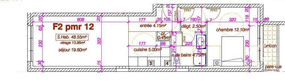 Vente Appartement L'haÿ-Les-Roses 49m² 319.000€