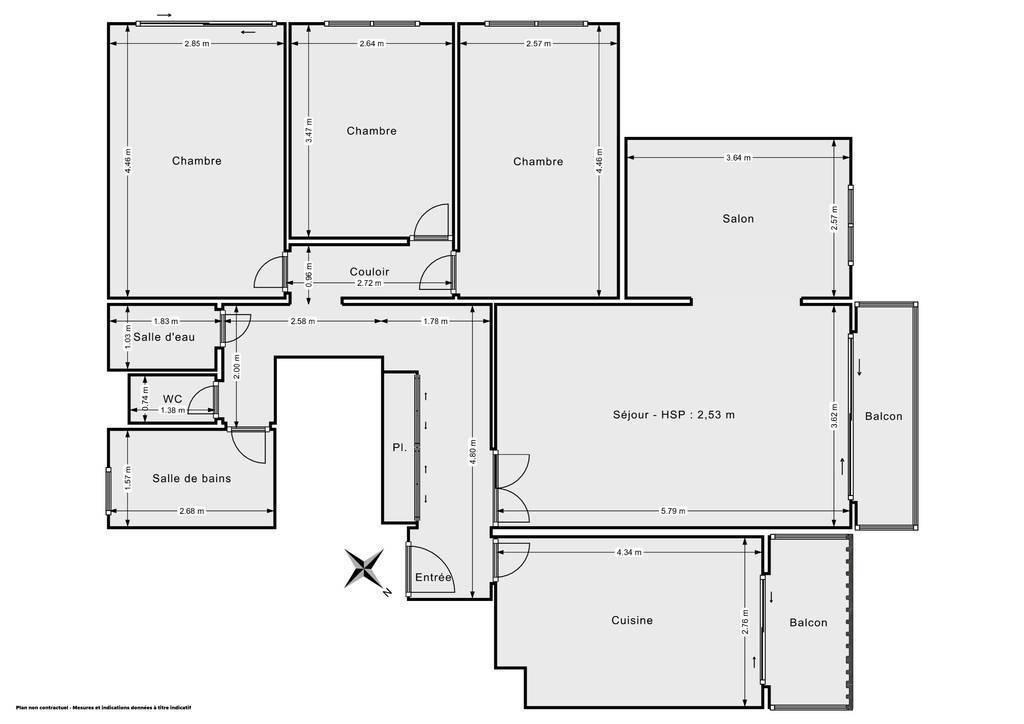 Appartement Sèvres (92310) 618.000€