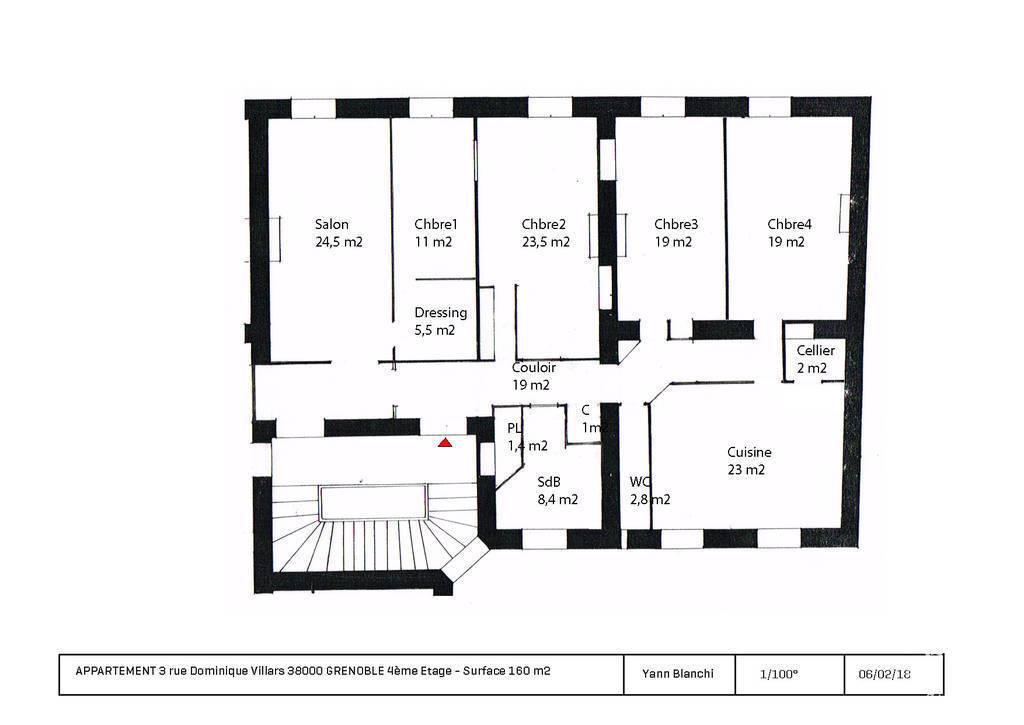Appartement Grenoble (38000) 1.340€