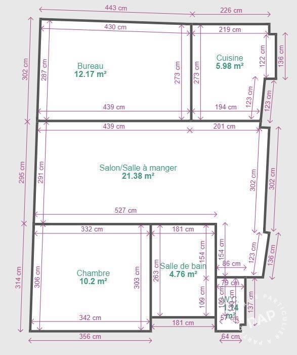 Appartement Paris 15E (75015) 560.000€
