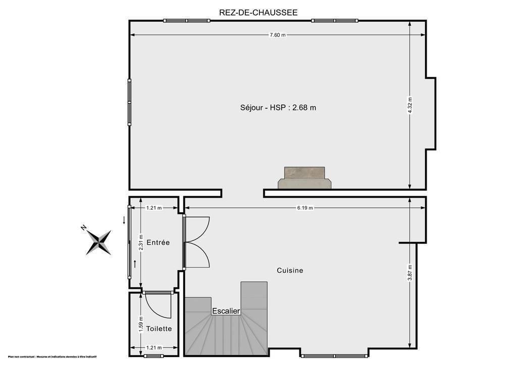 Vente Maison Monestier 119m² 145.000€