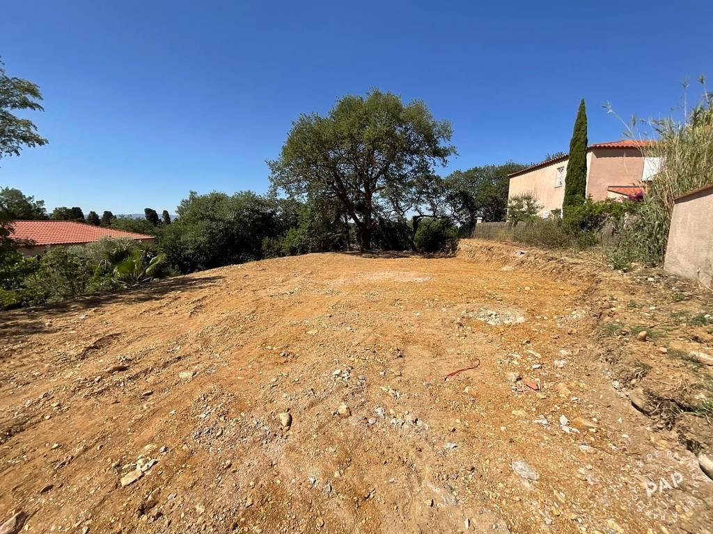 Vente Terrain Canet-En-Roussillon (66140)  385.000€