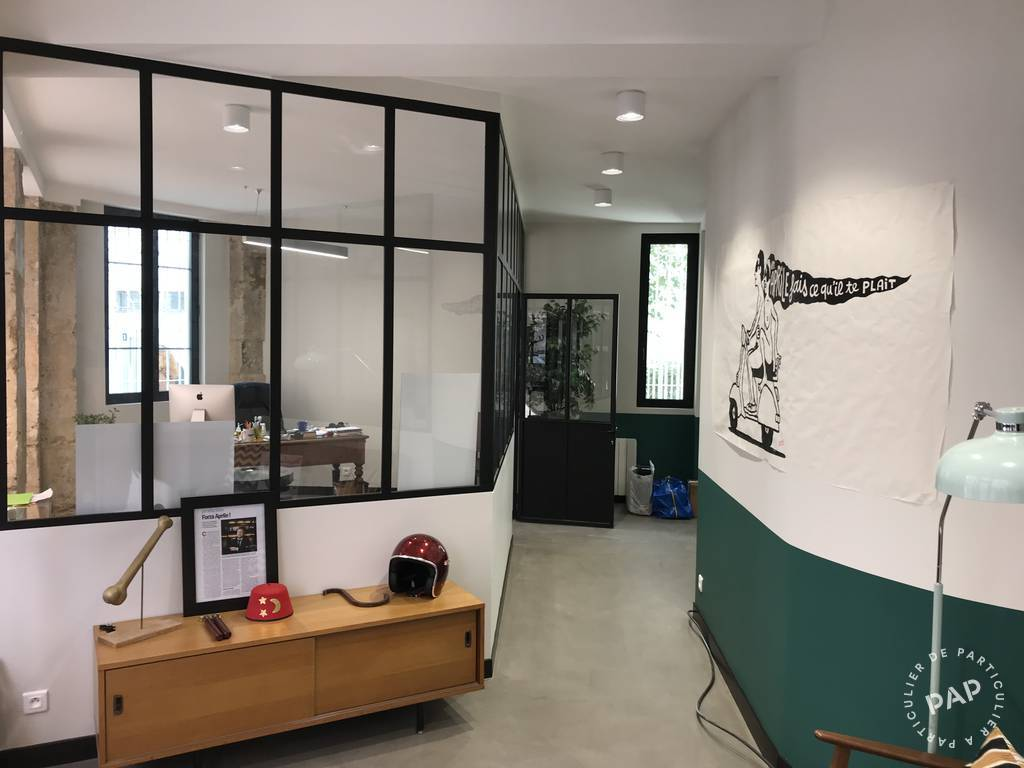 Vente et location Bureaux, local professionnel Paris 20E (75020) 142m² 1.250.000€