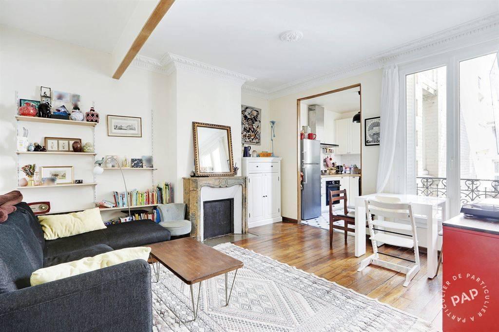 Vente Appartement Paris 20E (75020) 62m² 600.000€