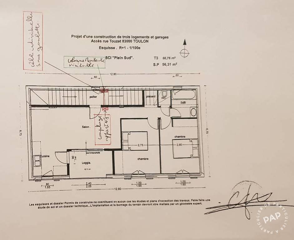 Vente immobilier 360.000€ Toulon (83100)