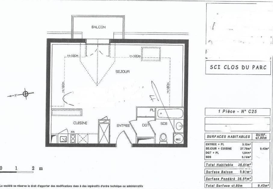 Appartement Beauvais (60000) 92.000€