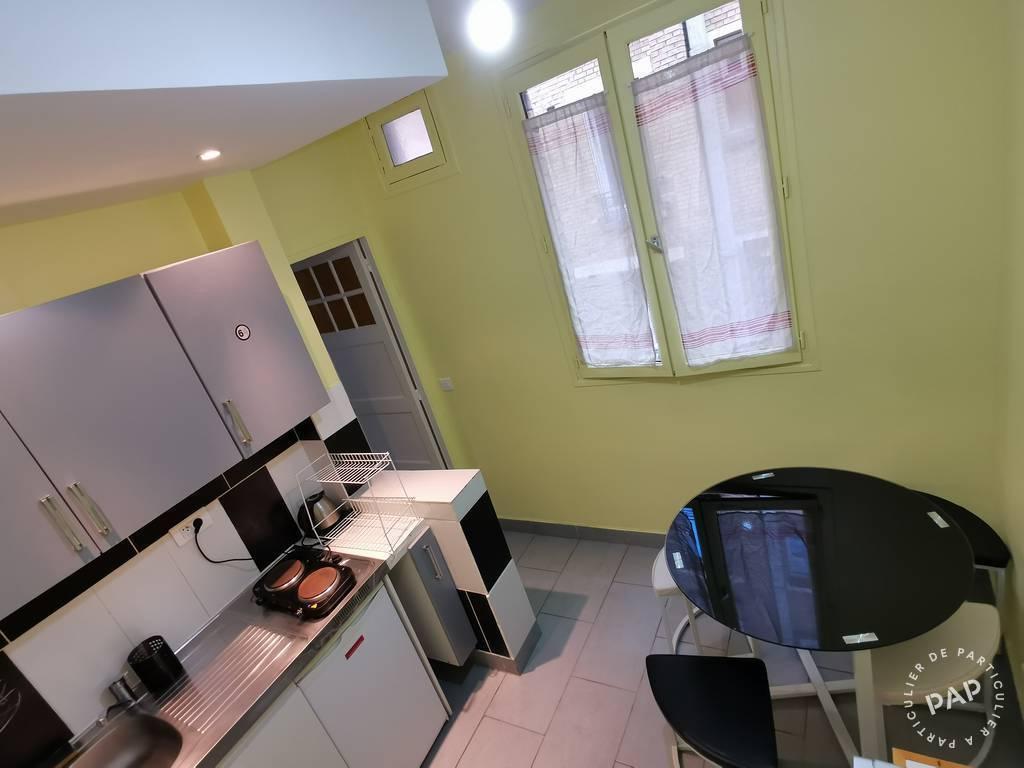 Appartement 900€ 26m² Paris 18E