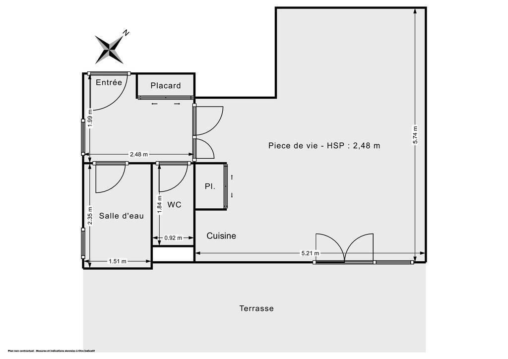 Vente Appartement Toulouse (31400) 36m² 134.000€