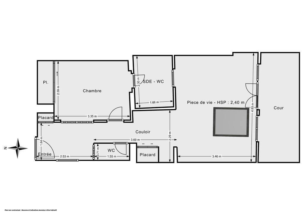 Vente Appartement Paris 16E (75016) 42m² 779.000€
