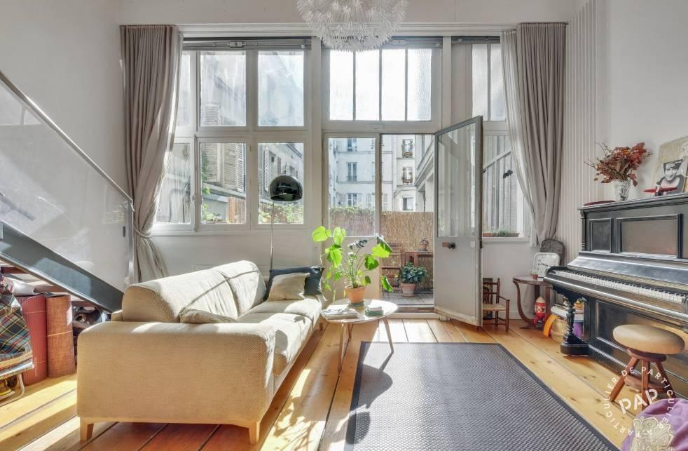 Vente Appartement Paris 18E (75018) 85m² 880.000€