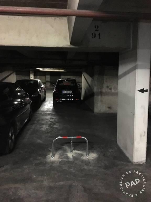 Vente Garage, parking Paris 19E (75019)  16.000€