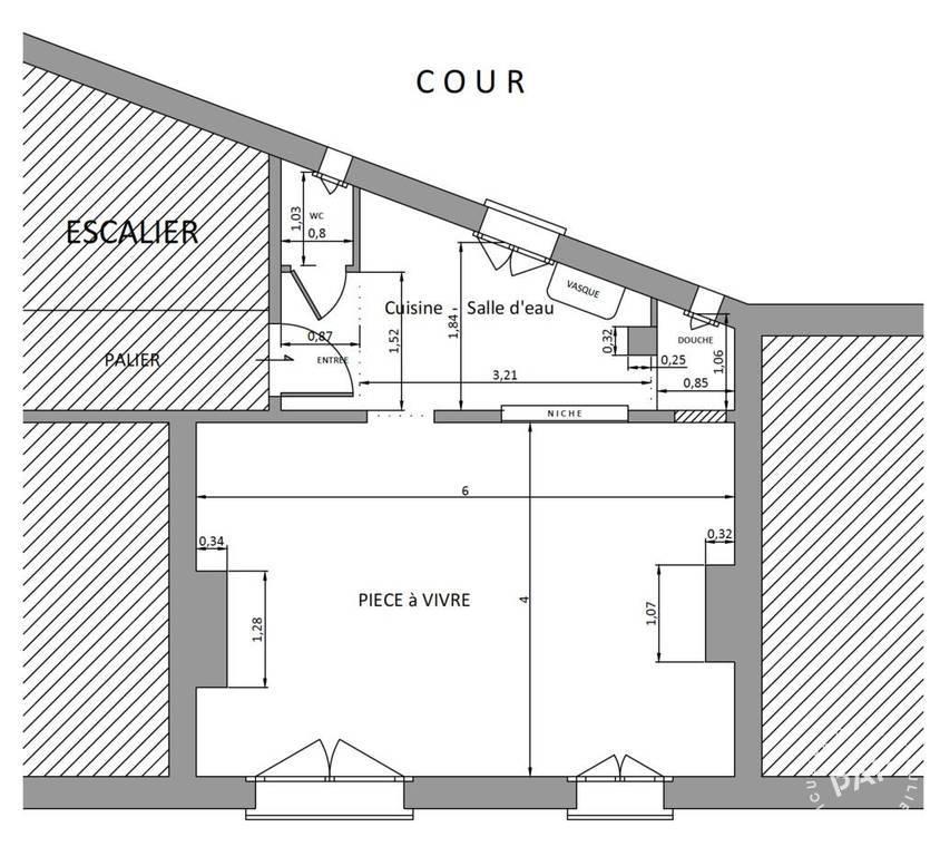 Vente immobilier 365.000€ Paris 13E (75013)