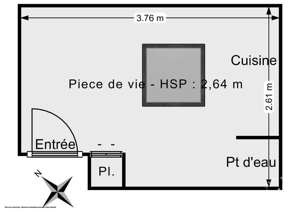 Appartement 96.000€ 7m² Paris 7E (75007)