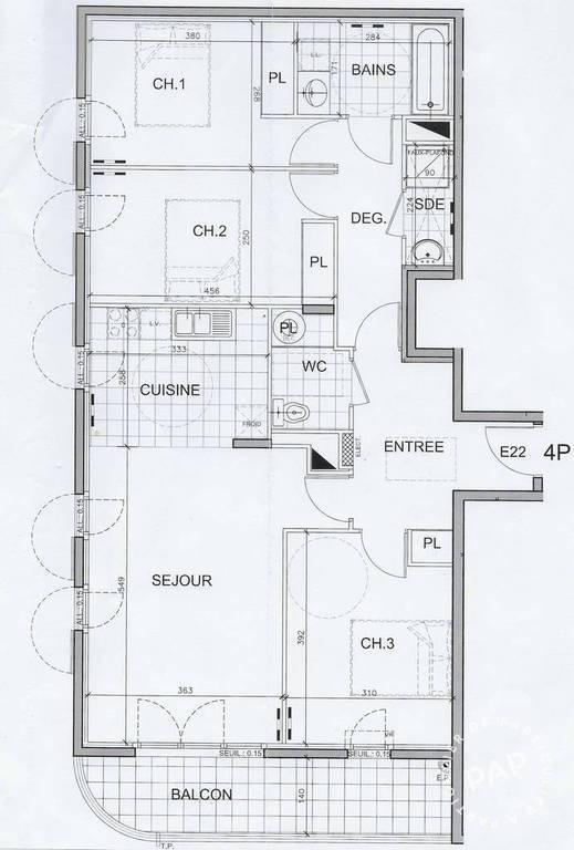 Vente Trappes (78190) 87m²