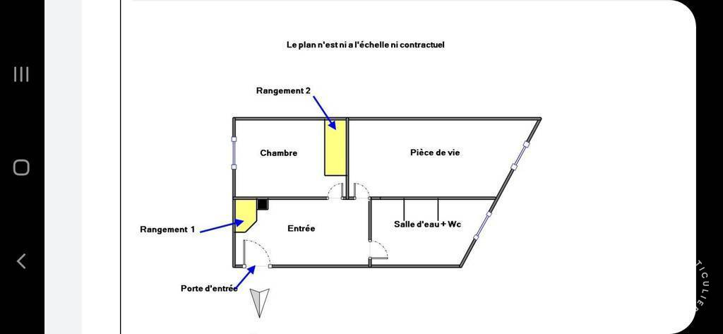 Immobilier Paris 14E (75014) 339.000€ 32m²
