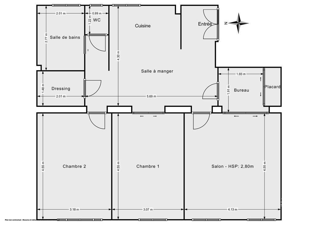 Vente Appartement Colombes (92700) 82m² 379.000€