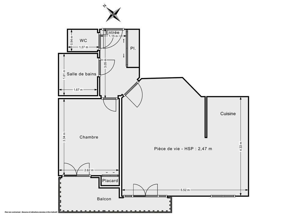 Vente Appartement Montrouge (92120) 46m² 430.000€