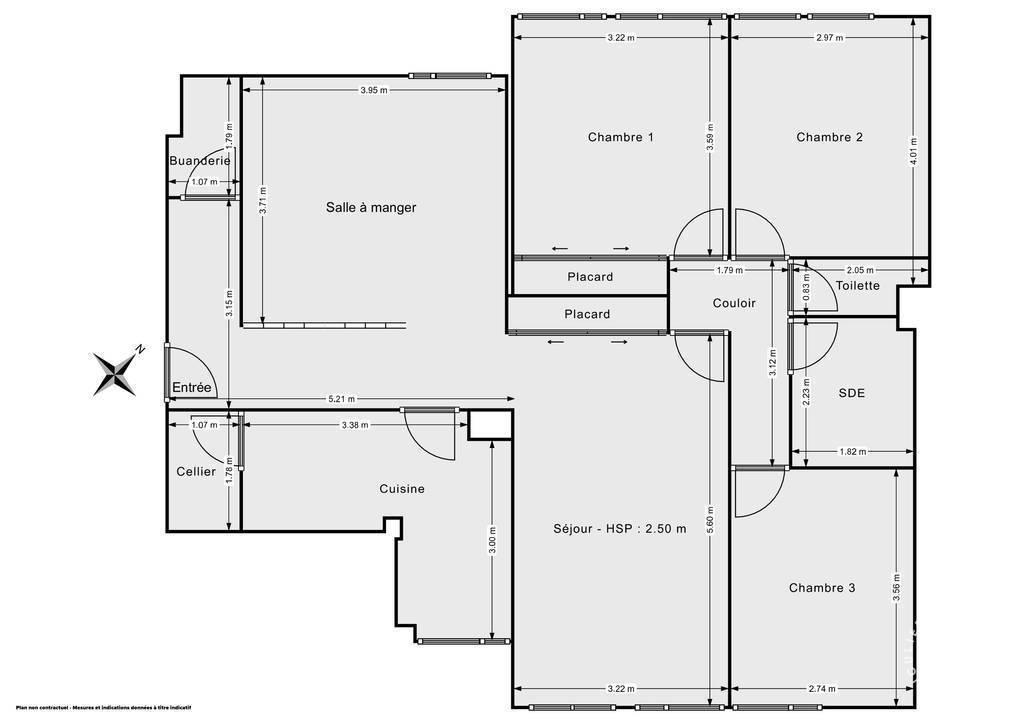 Vente Appartement Paris 15E (75015)
