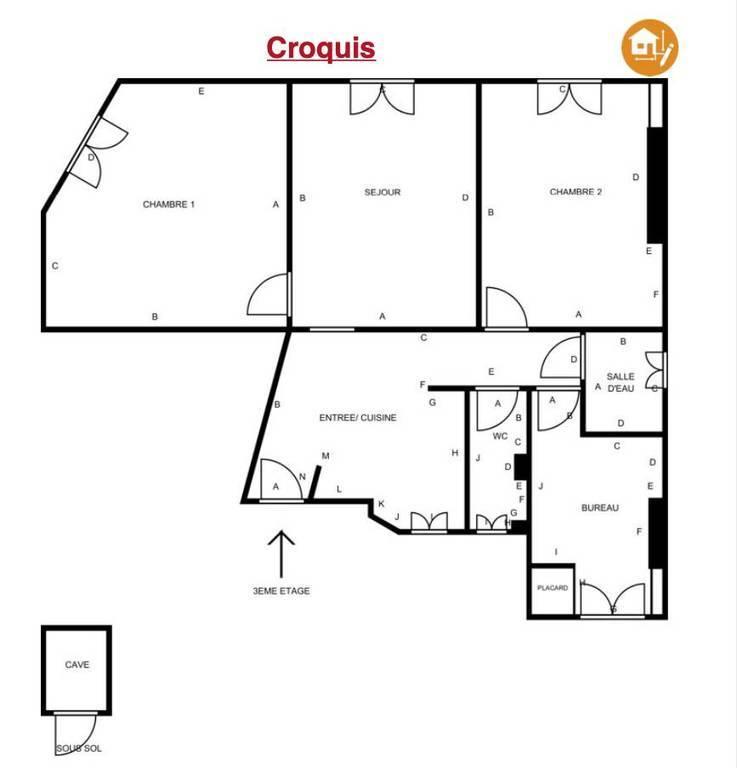 Vente Appartement Asnières-Sur-Seine (92600) 91m² 790.000€