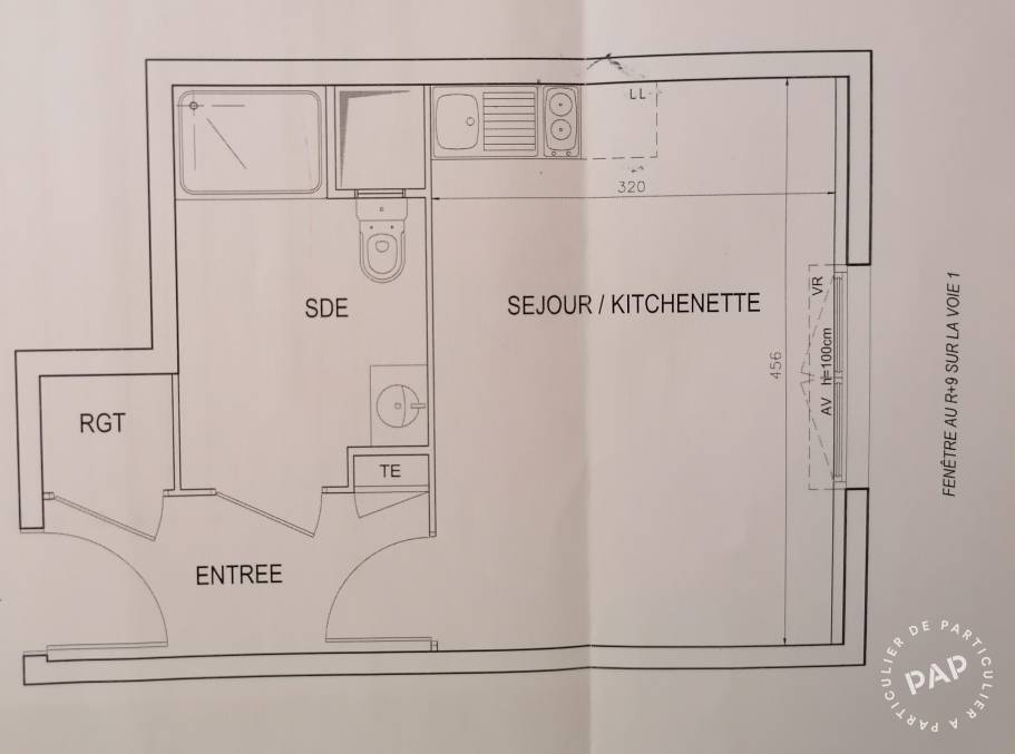 Vente Appartement Bezons (95870) 25m² 185.000€