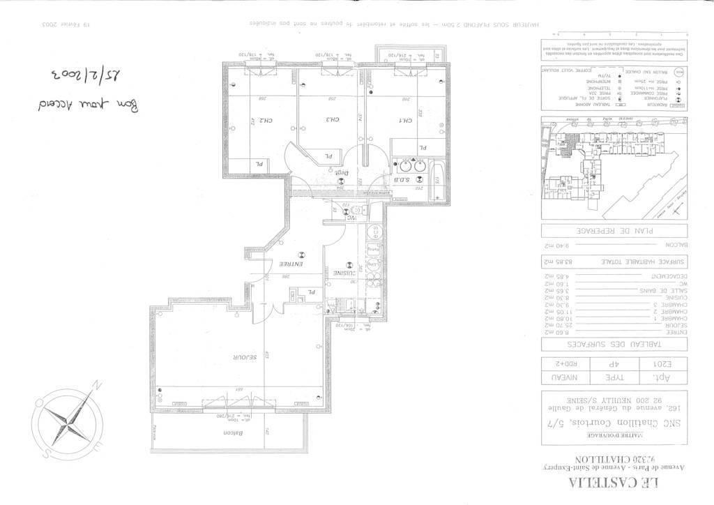 Immobilier Châtillon (92320) 579.000€ 85m²