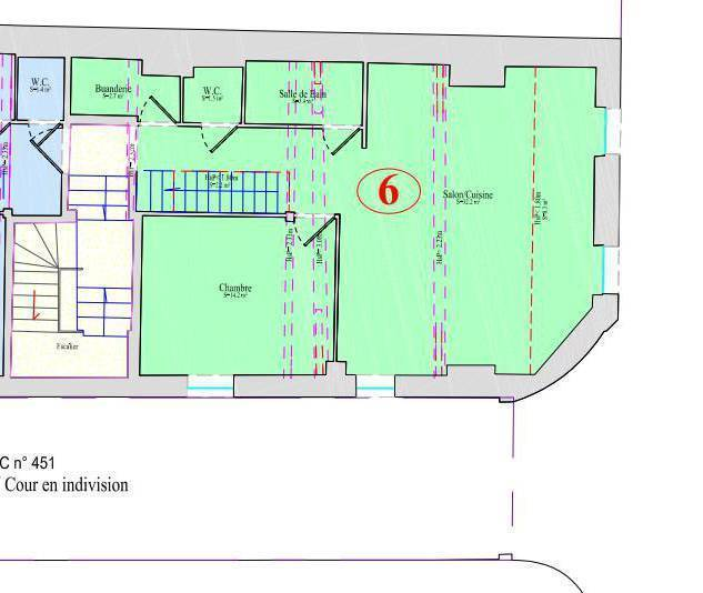 Immobilier Toulouse (31000) 413.000€ 80m²