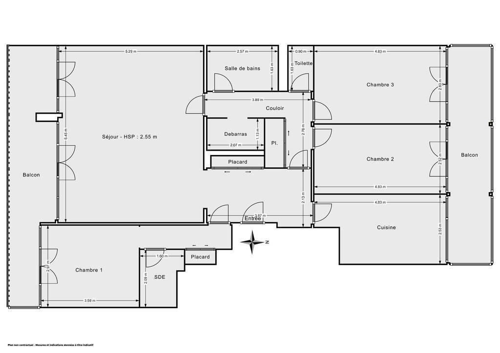 Vente immobilier 490.000€ Le Raincy (93340)