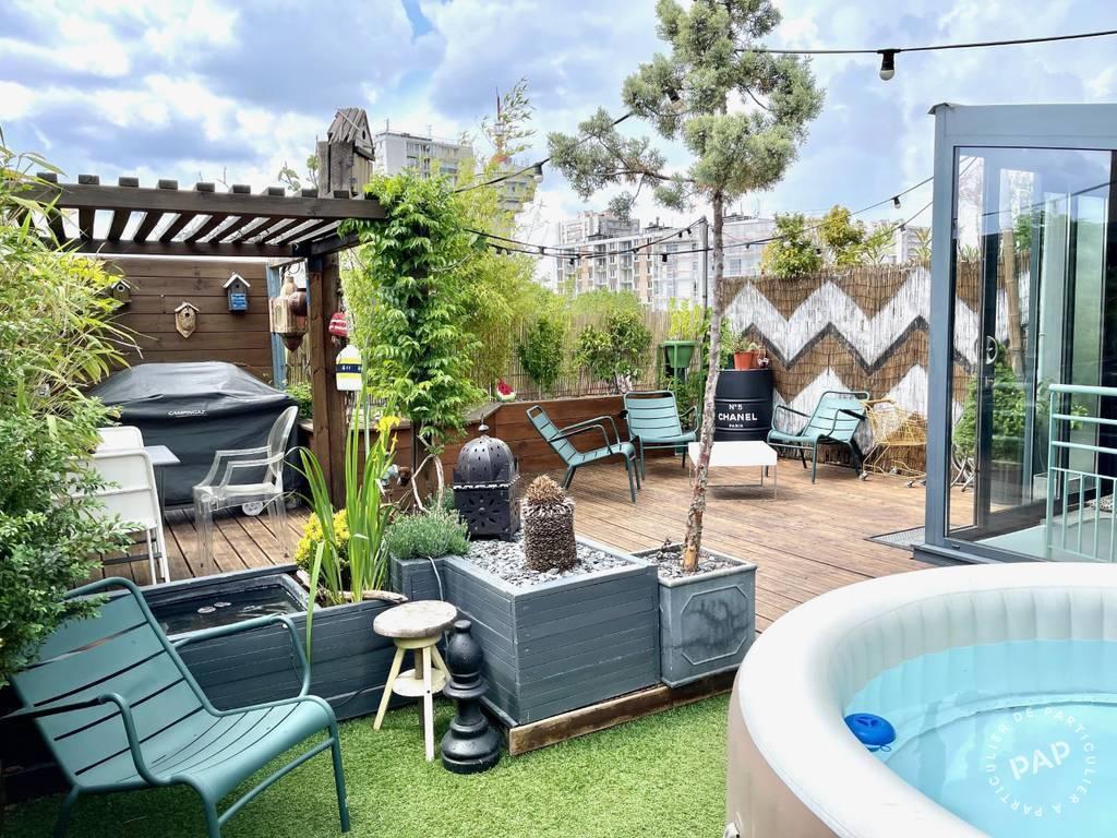 Vente Appartement Les Lilas (93260) 62m² 598.000€