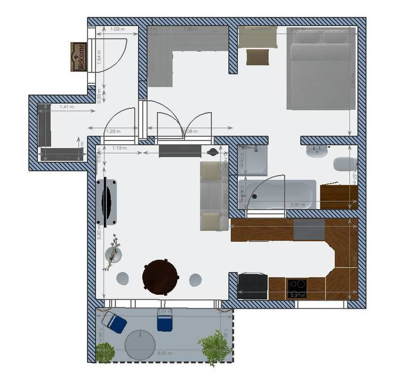 Vente Appartement Chaville (92370) 40m² 235.000€