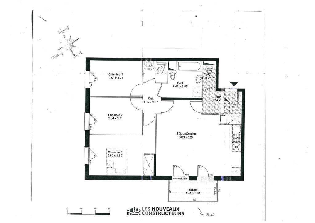 Vente Appartement Vitry-Sur-Seine 83m² 420.000€