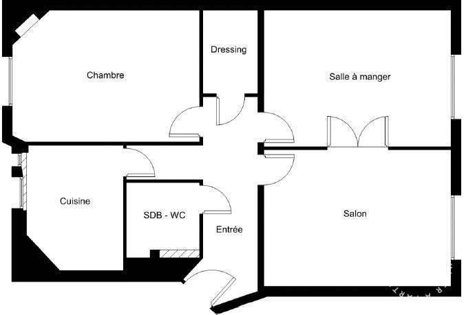 Appartement 830.000€ 58m² Paris 15E (75015)