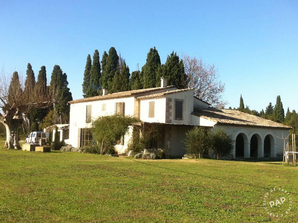 Vente Maison Plan-D'orgon (13750) 300m² 1.490.000€