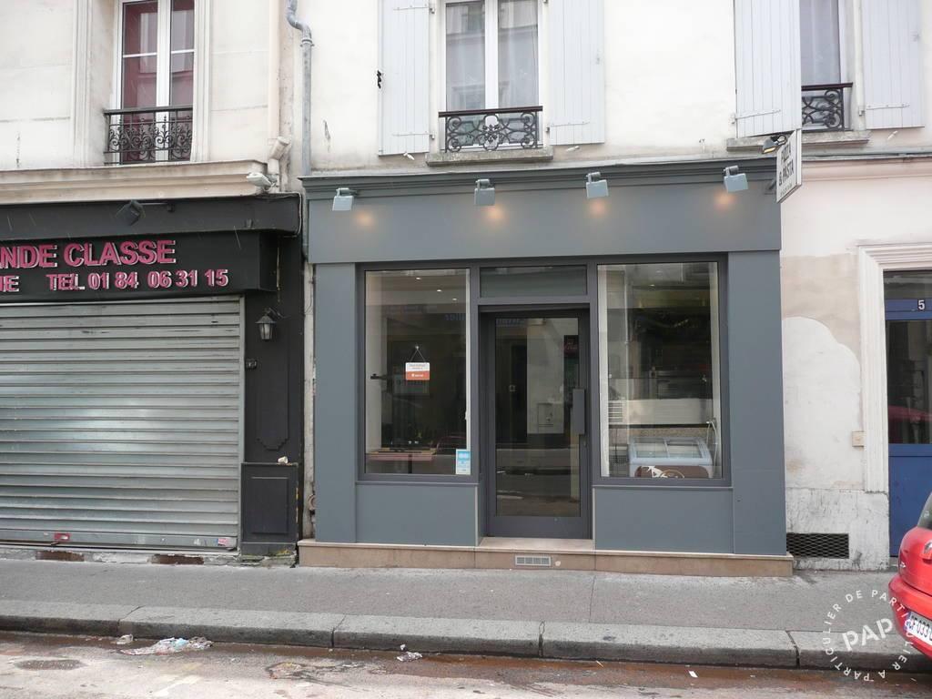 Vente et location Local commercial Paris 17E 30m² 1.700€