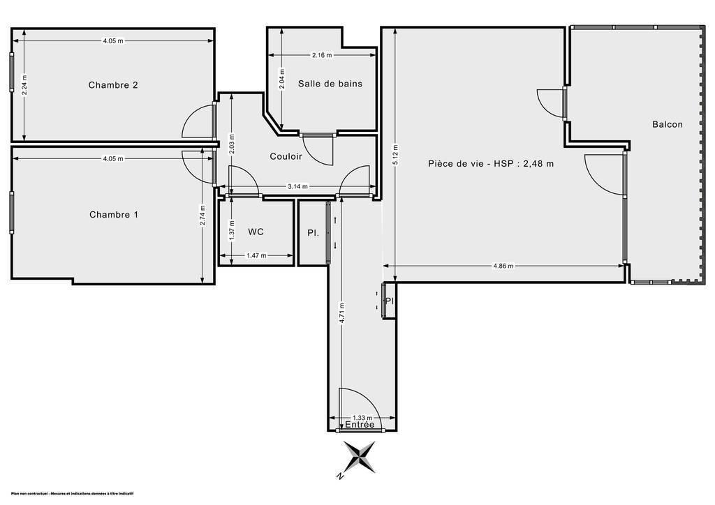 Vente Appartement Alfortville (94140) 61m² 415.000€