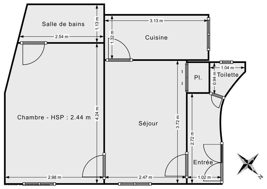 Vente Appartement Paris 10E 33m² 387.000€