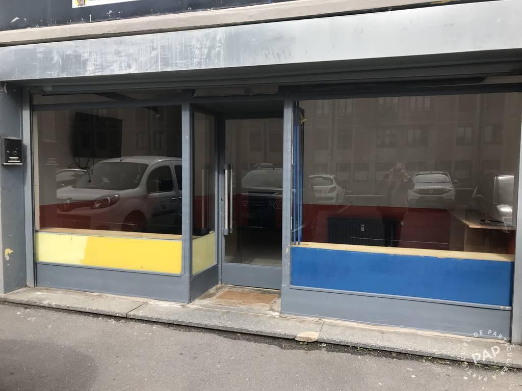 Vente et location Local commercial Maubeuge (59600) 36m² 500€