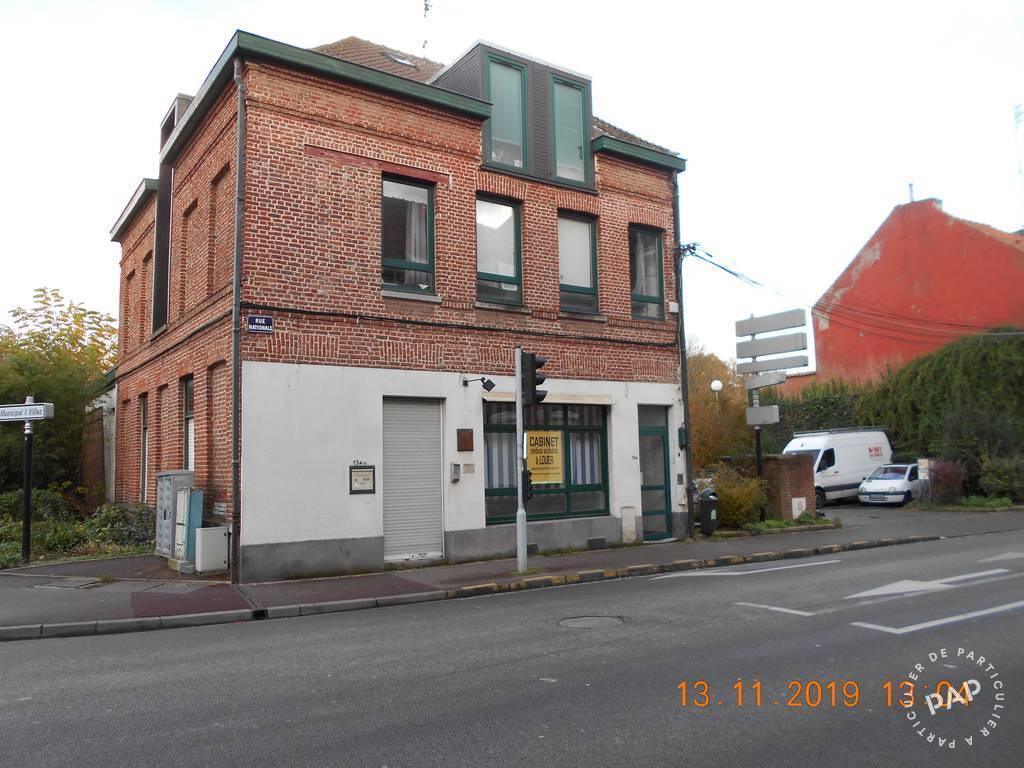 Location Bureaux et locaux professionnels Tourcoing (59200) 48m² 620€