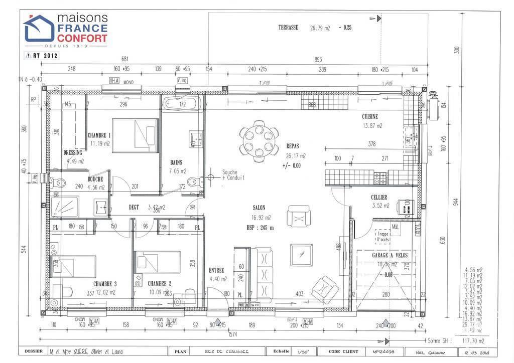 Maison 396.000€ 117m² Labarthe-Sur-Lèze (31860)