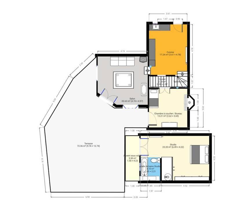 Maison 630.000€ 110m² Le Plan-De-La-Tour (83120)