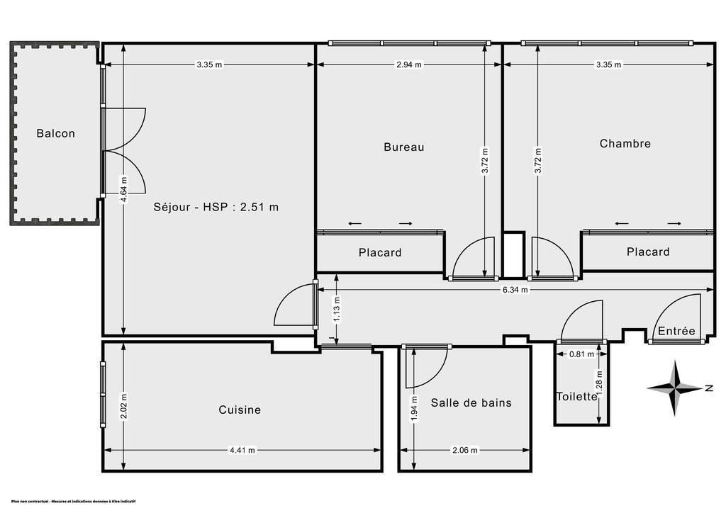 Vente Appartement Champigny-Sur-Marne (94500) 60m² 296.400€