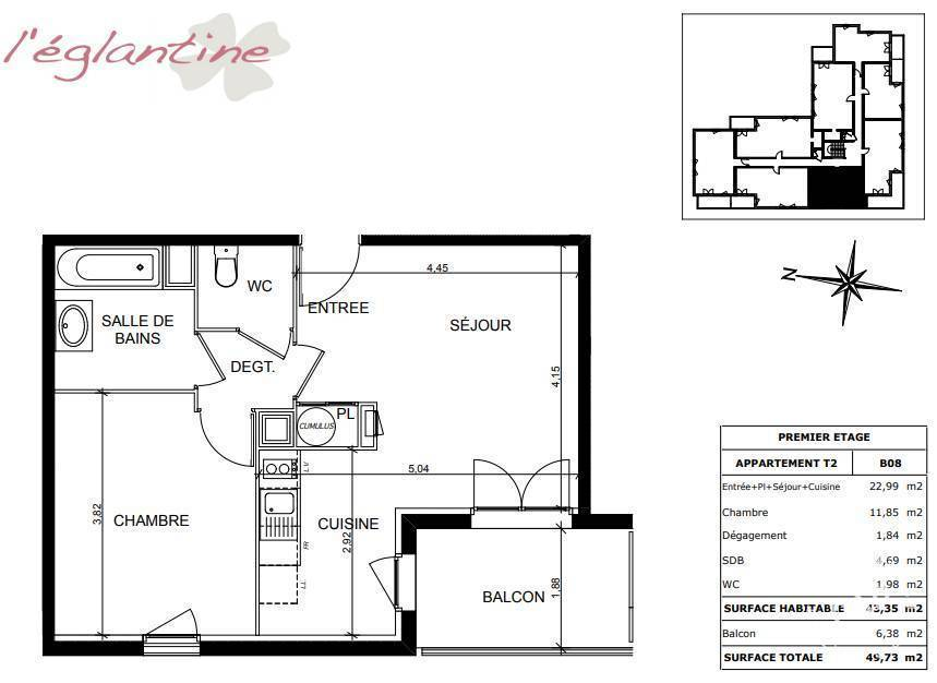 Vente immobilier 154.000€ Toulouse (31400)