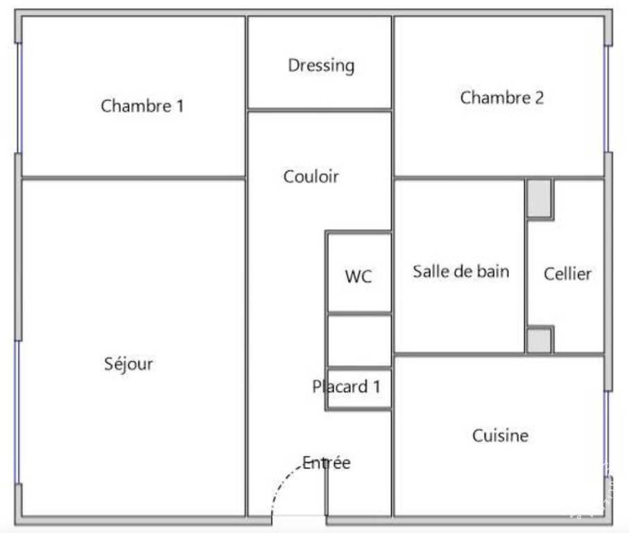 Vente Laxou (54520) 89m²