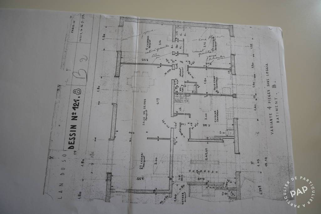 Immobilier Clamart (92140) 360.000€ 69m²