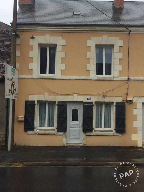 Vente Maison Châtillon-Sur-Indre (36700) 55m² 52.000€