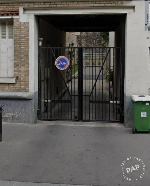 Location Garage, parking Paris 13E (75013)  105€