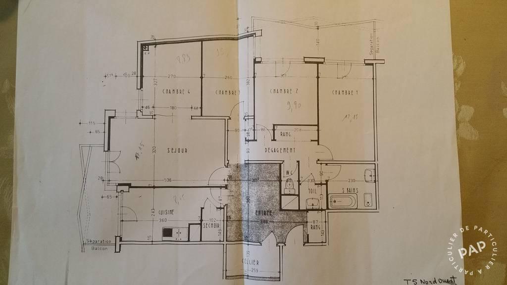 Immobilier Tours (37200) 165.000€ 99m²