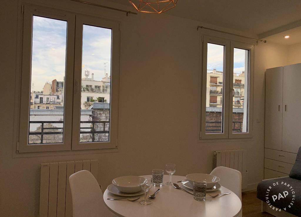 Location Appartement Paris 18E (75018) 18m² 850€